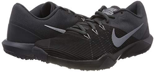 Nike Men's Retaliation Trainer Cross, Black/Metallic Cool Grey - Anthracite 9.0 Regular US