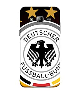colorking Football Germany 14 Multi Color shell case cover for Samsung On7