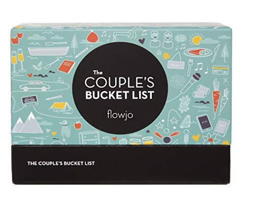 The Couples Bucket List, 100 Date Night Idea Cards - Games for Couples - Cute Gifts for Wife or Girlfriend - Unique Christmas Gift for Her - Best Gifts for Weddings & Bridal Shower. (Gifts For Christmas Ideas Couple)