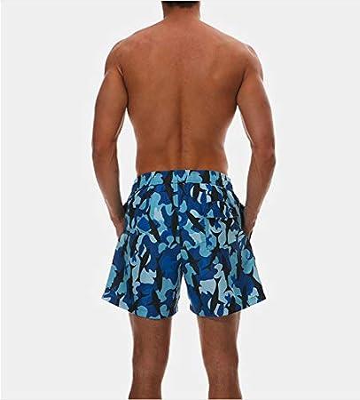Mens Swim Trunks Haiti Love Beach Board Shorts Quick Dry Sports Running Swim Board Shorts with Pockets Mesh Lining