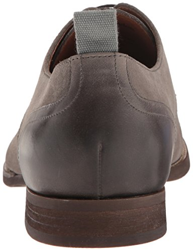 Rush Par Gordon Rush Mens Lindon Oxford Daim Gris Clair