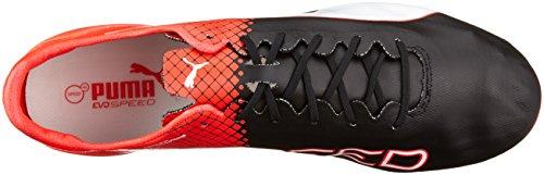 Evospeed De Football puma Blast Homme Chaussures Fg Sl White Black Noir Tricks red Puma 03 Ii puma gAUdgq