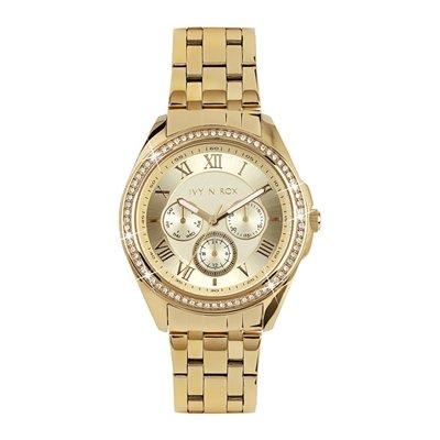 lucardi – Ivy N Rox – Ivy N Rox Reloj de pulsera para mujer – acero