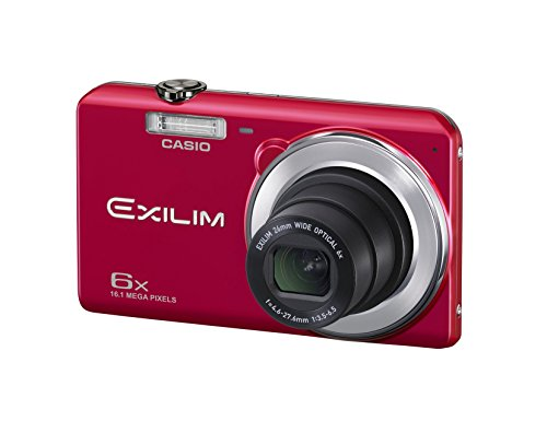 CASIO digital camera EXILIM EX-ZS28RD wide-angle 26mm optical 6x zoom premium auto 16.1 million pixels (Red)