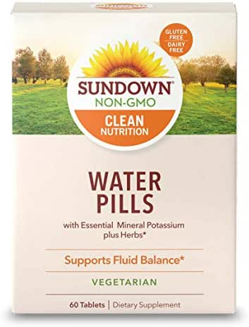 Sundown Natural Herbal Water Pills, 60 Tablets (Pack Of 3)(Packaging May Vary)