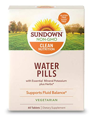 Sundown Naturals® Natural Herbal Water Pills, 60 Tablets (Pack Of 3)(Packaging May Vary)