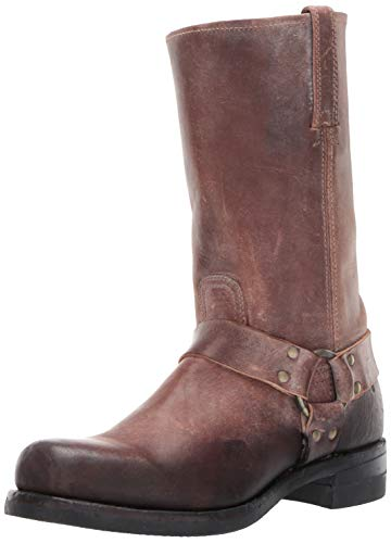 - FRYE Men's 12R Harness Boot, Brown, 8.5 M
