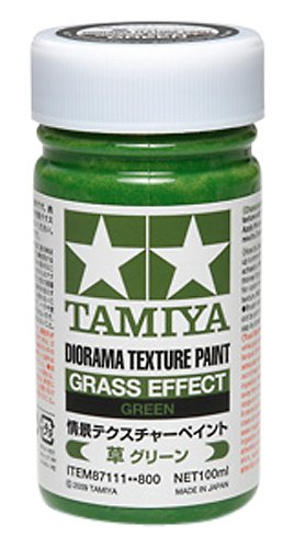Tamiya Diorama (Diorama Textured Paint - Grass Effect Green - Paint - Tamiya)