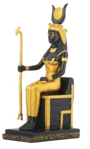 Sitting Isis Collectible Figurine, Egypt