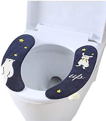 Brilliant Hengx Universal Paste Toilet Seat Household Waterproof Inzonedesignstudio Interior Chair Design Inzonedesignstudiocom
