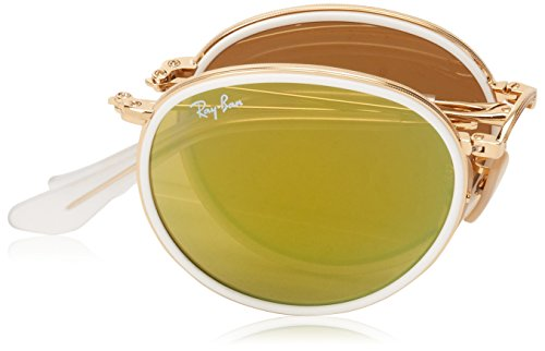 ROUND Gold Ray Ban RB Sonnenbrille Gold 3517 7ZvqF