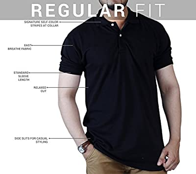 Polo Men's Classic Short Sleeve Shirt – Stylish, Fashionable with Striking Solid Colors