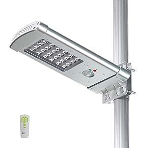 Amazon.com: Led Solar Powered Street Light 24Leds 1000