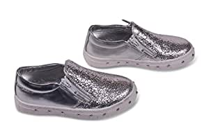 Amici Shoes Silver Shoes For Girls