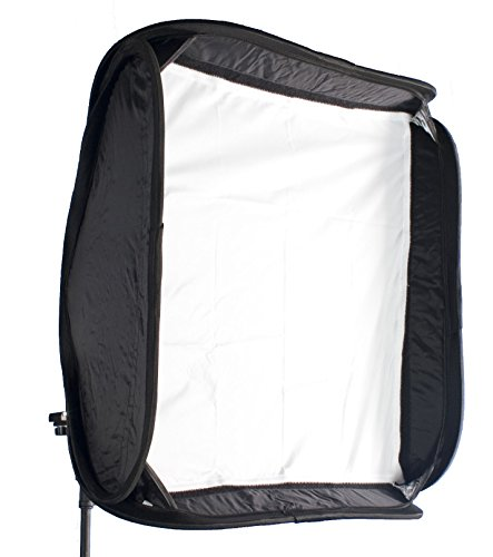 Simple Studio 24x24 inch Speedlight Softbox with Mounting Bracket