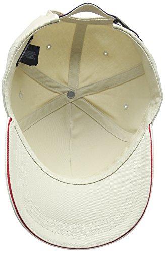Tommy Gorra de 015 Béisbol Hilfiger Hombre Marfil Gray Cap Oyster para Corporate HFwrqH