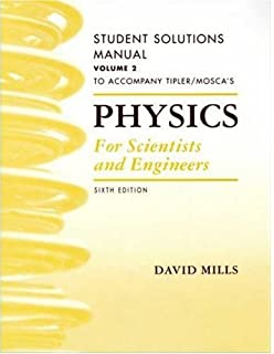 Amazon physics for scientists and engineers student solutions physics for scientists and engineers student solutions manual vol 2 fandeluxe Gallery