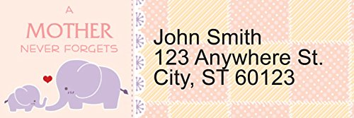 A Mother's Love Rectangle Address Labels (144 Labels)