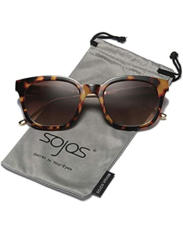 8f6f9f37200 SOJOS Classic Polarized Sunglasses for Women Men Mirrored Lens SJ2050