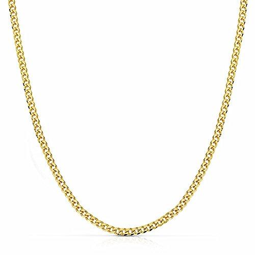 Chaîne Herringbone 18k 50cm d'or. [AA2541]