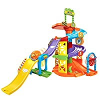 VTech Go! ¡Ir! Smart Wheels Spinning Spiral Tower Playset