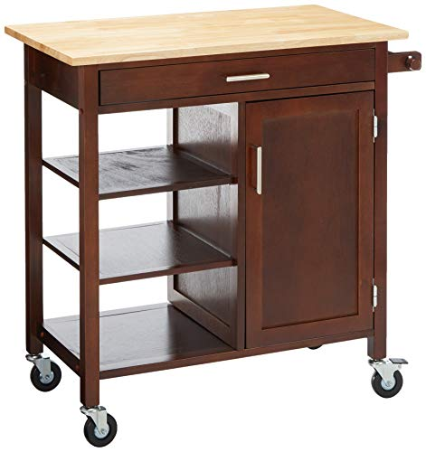 Winsome Wood 94543 Marissa Kitchen Cart Walnut ()