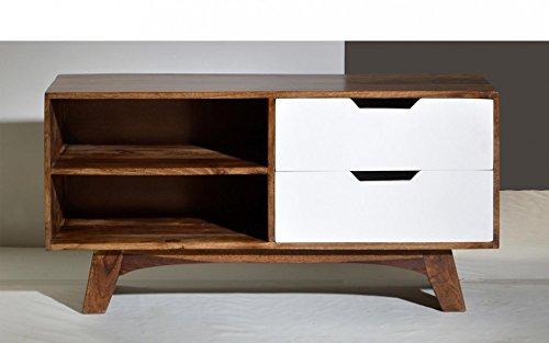 Excl. Baidani Designer Lowboard TWIGGY Breite 120cm Retro-Design der 60er