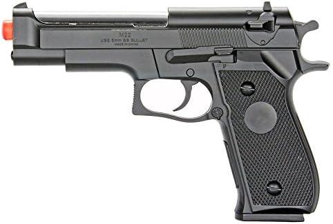 BBTac Airsoft Pistol BT-M22 Spring Loaded Gun Airsoft Handgun