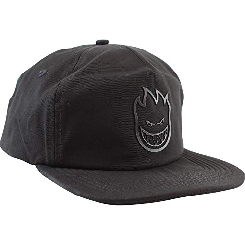 Spitfire Wheels Bighead Black Unstructured Hat - - Spitfire Hat