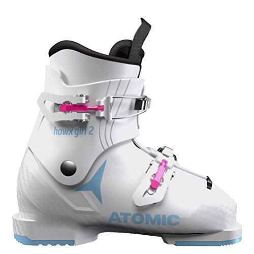 irls Ski Boots 2019-18.5/White-Denim Blue ()