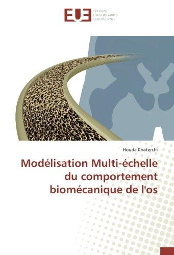 Modélisation Multi-échelle du comportement biomécanique de l'os Broché – 13 septembre 2016 Houda Khaterchi 3841795153 Ingenieurswesen Maschinenbau allgemein