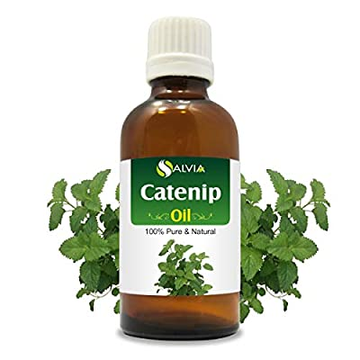 CatNip for Cats Catnip (Nepeta cataria) Essential Oil 100% Pure & Natural Undiluted Uncut Oil | Best For Aromatherapy | Therapeutic… [tag]