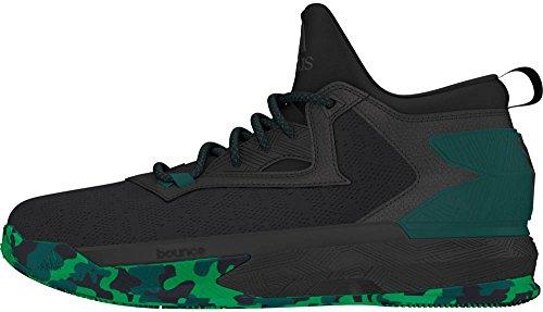 Adidas Heren D Lillard 2 Basketbal Coreblack / Cgreen / Groen 9 D (m) Ons