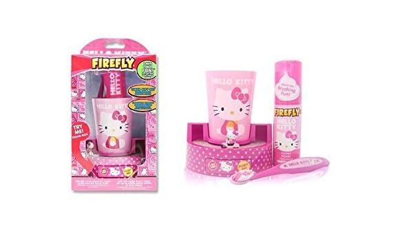 Belleza accesorios - Hello Kitty - taza del cepillo de dientes y girando en temporizador 8111811266: Amazon.es: Hogar