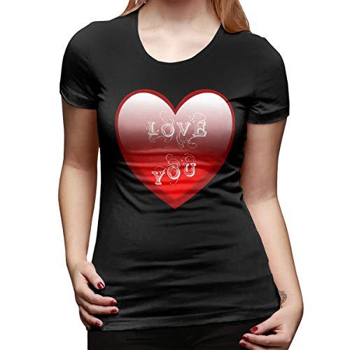 Daronren Bac Heart Women's Short Sleeve T Shirt