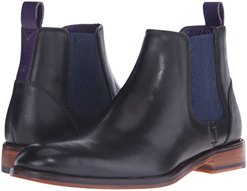 Ted Baker Men's Camroon 4 Chelsea Boot, Black Leather, 8 M US