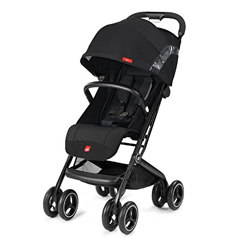 gb 2018 Buggy QBIT+ WITH Bumper Bar ''Satin Black''- from birth up to 17 kg (approx. 4 years) - GoodBaby QBIT PLUS by gb