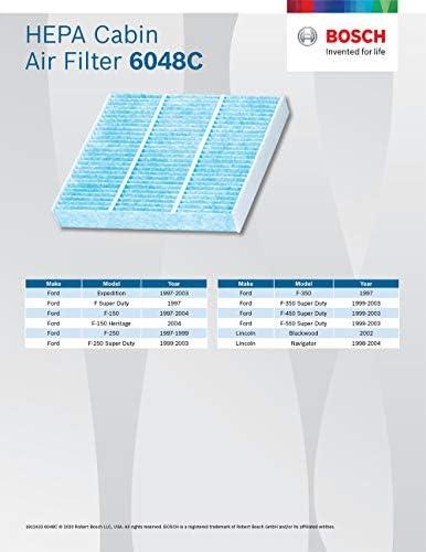 Bosch 6048 C HEPA filtro de aire del habitáculo: Amazon.es: Coche ...