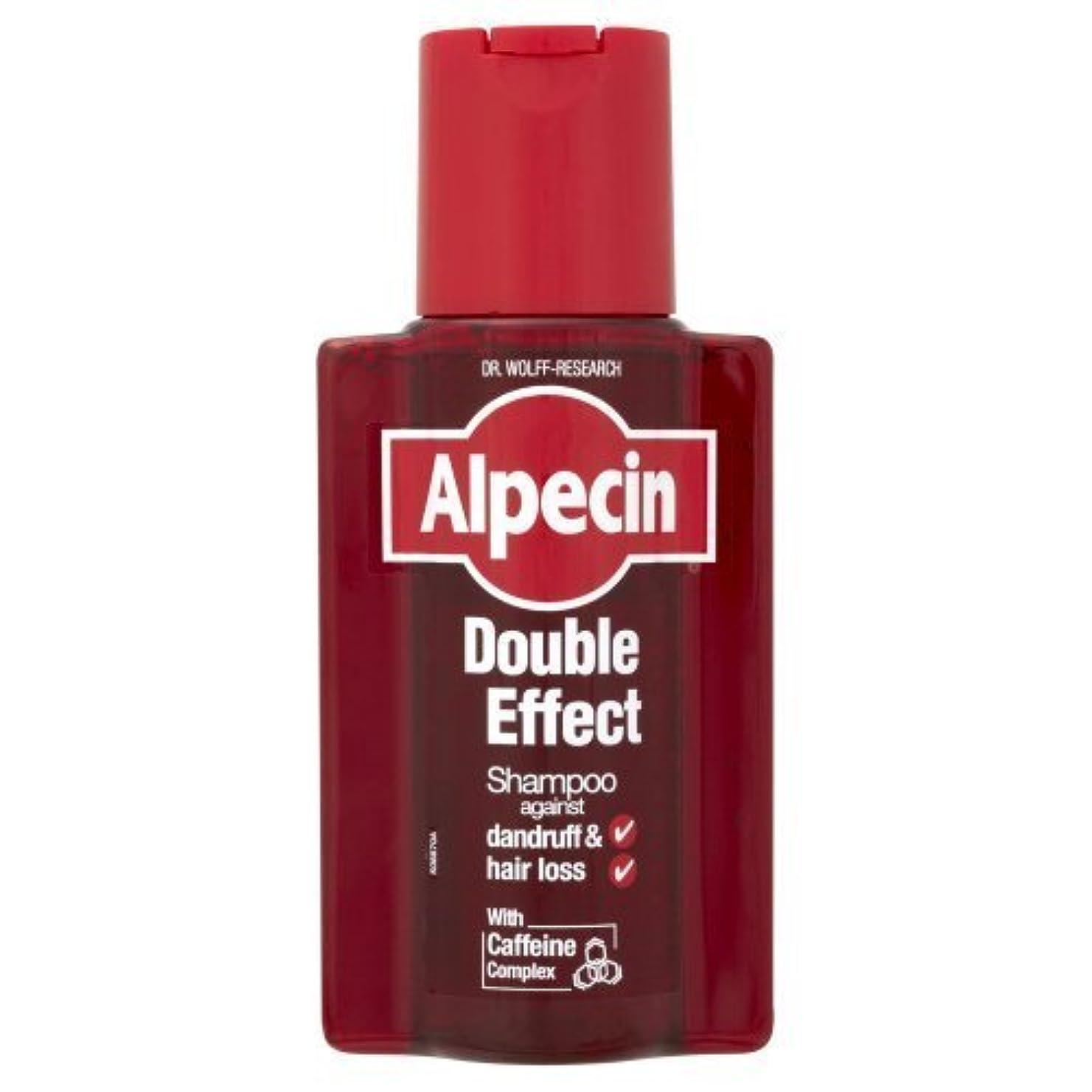ボタン自宅で独立してAlpecin Double Effect Shampoo - 200ml by Alpecin [並行輸入品]