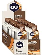 GU Energy Gel, Caramel Macchiato (koffie karamel), doos met 24 x 32 g
