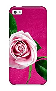 /For HTC One M7 Case Cover(roses Red White)