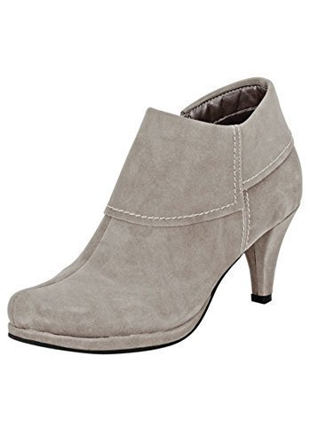Andrea Conti Ankle Boots Women From Fine synthetics Grey uHhr9Z