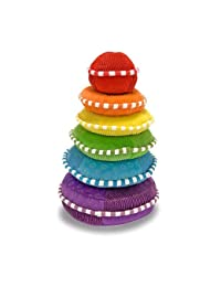 Melissa & Doug Soft Rainbow Stacker Educational Toy BOBEBE Online Baby Store From New York to Miami and Los Angeles