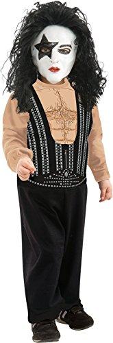 Kiss Starchild Paul Stanley Rock Star Costume Toddler (Kiss Toddler Costume)