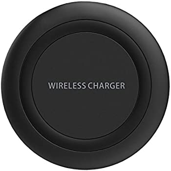 Wireless Charger, Yootech Wireless Charge Charging Pad for iPhone X, iPhone 8/ 8 Plus,Samsung Galaxy S8/S8 Plus,S7/S7 Edge,S6/S6 Edge,Note 8/Note 5[No AC Adapter][Ultra Slim][Sleep-friendly]