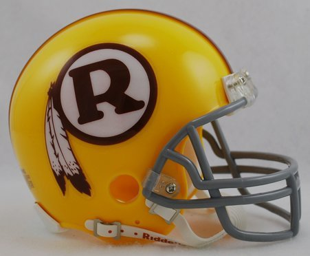 Washington Redskins Throwback Mini Helmet (Helmet Washington Nationals Mini Riddell)