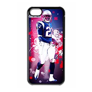Sport NFL New England Patriots Print tom brady With Hard Shell Cover for iPhone 5C Case -JUST do it ,style 6