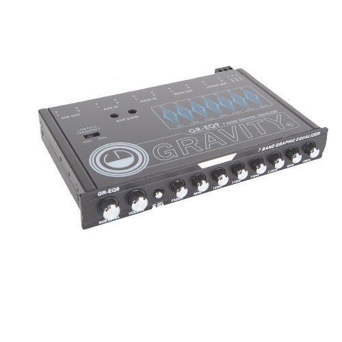 - Gravity 7 Band Graphic Equalizer GR-EQ9