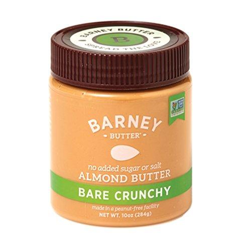 Barney Butter Bare Almond Butter, Crunchy, 3 Count