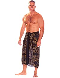 Mens Abstract Tribal Sarong in Your Choice of Color